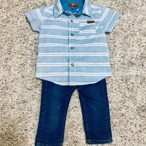 7 for all Mankind Toddler Boy Outfit, WORN ONCE!